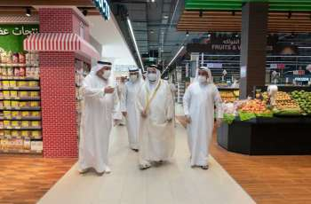 Ruler of Sharjah opens Kalba Mall