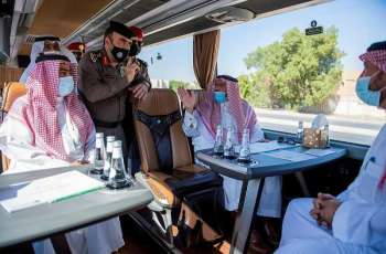 سمو أمير القصيم يفتتح الممر العلوي لطريق الملك عبدالله بن عبدالعزيز بقيمة 55 مليون ريال بمدينة بريدة