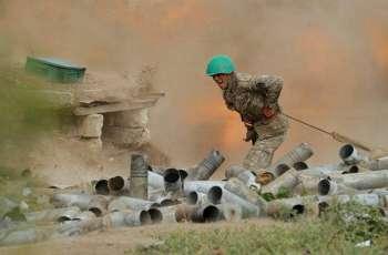 Nagorno-Karabakh Reports Mass Destruction From Azerbaijani Airstrikes on Several Cities