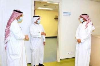 الرئيس التنفيذي للهيئة الملكية بينبع يزور المركز الطبي بينبع الصناعية