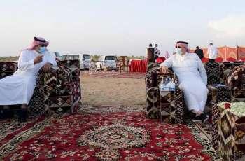 سمو أمير جازان يتفقد محافظة أحد المسارحة ويلتقي الأهالي