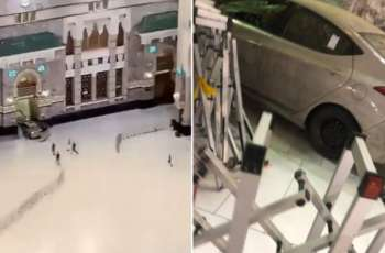 Driver rams car into one of main gates of Grand Holy Mosque in Mecca