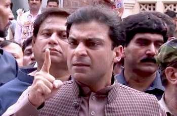 Hamza Shehbaz faces verbal clash at jail gates, says Tarar