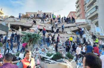 Turkey's Erdogan Goes to Quake-Hit Izmir
