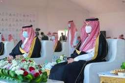 سمو نائب أمير الشرقية يتوج الفائزين في ختام سباق الهجن في النعيرية