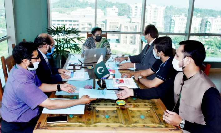 Minister of human rights meets delegation of mental health experts and discuss initiating series of efforts regarding human rights of people in Pakistan