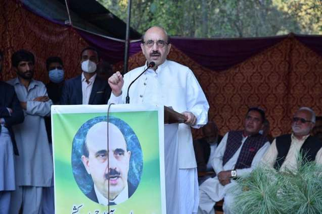 AJK President stresses need for dialogue between AJK, GB leadership