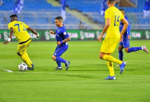 دوري كأس الأمير محمد بن سلمان : الهلال يتغلب على العين