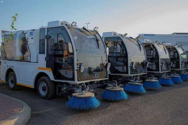 انطلاق أعمال مشاريع النظافة الجديدة للمدينة المنورة