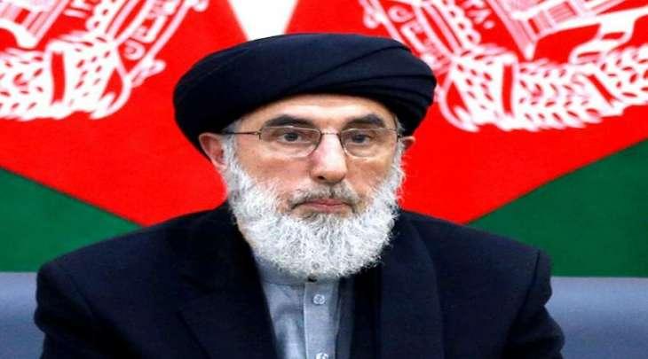 زعیم الحزب الاسلامي الأفغاني غلبدین حکمتیار سیصل باکستان الیوم فی زیارة تستغرق ثلاثة أیام