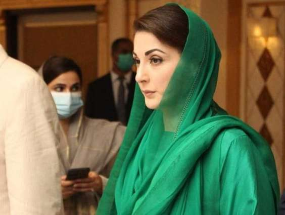 Maryam Nawaz leaves hotel in Karachi without press talk