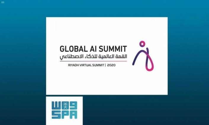 تحت رعاية سمو ولي العهد.. بدء أعمال القمة العالمية للذكاء الاصطناعي
