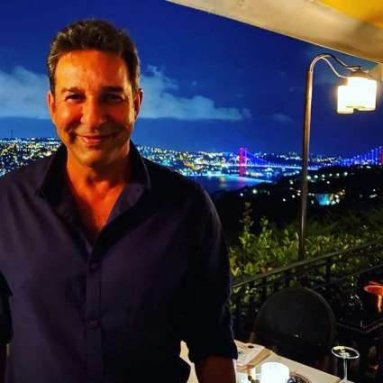 Wasim Akram shares picture of his smiling face from Turkey