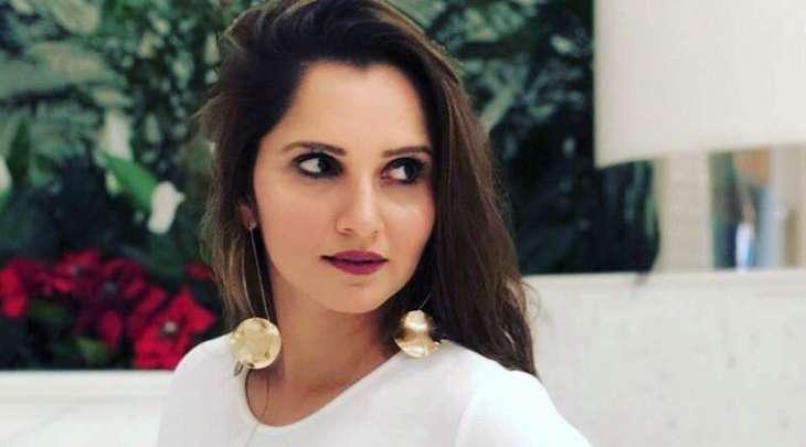 """Sania Mirza watches Pakistani drama """"Mera Dil Mera Dushman"""""""