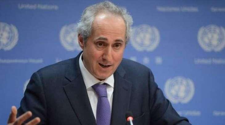 UN Back US Efforts to Reduce Karabakh Tensions By Hosting Talks in Washington - Spokesman