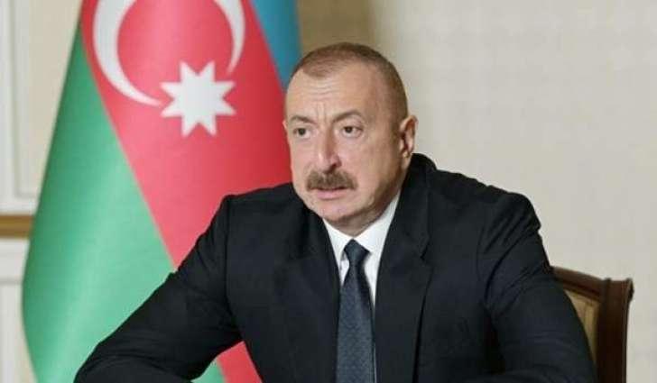 Aliyev Says Azerbaijani, Armenian Foreign Ministers' Talks in Geneva Should Be Meaningful