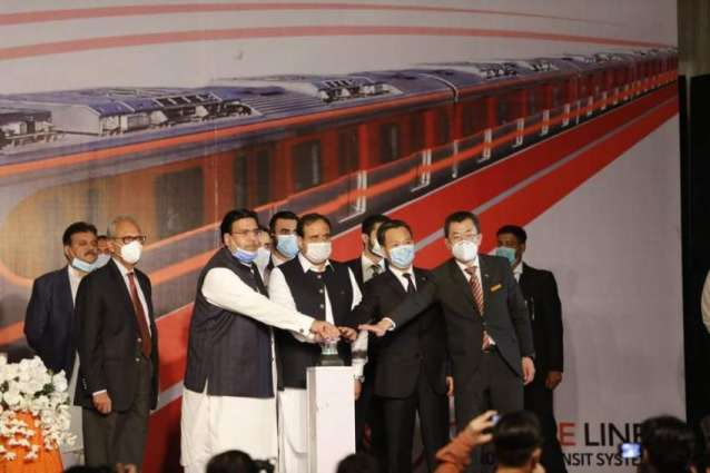 A new chapter in China-Pakistan friendship:Pakistan officially enters the subway era with the launch of Orange Line Metro Train