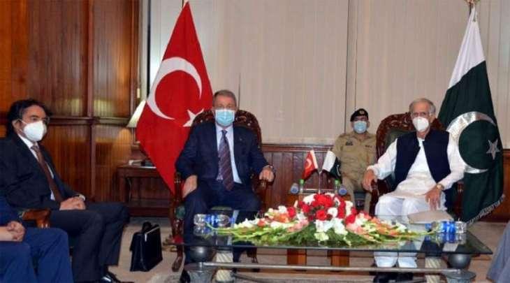 باکستان تشکر ترکیا لدعمھا بشأن قضیة کشمیر