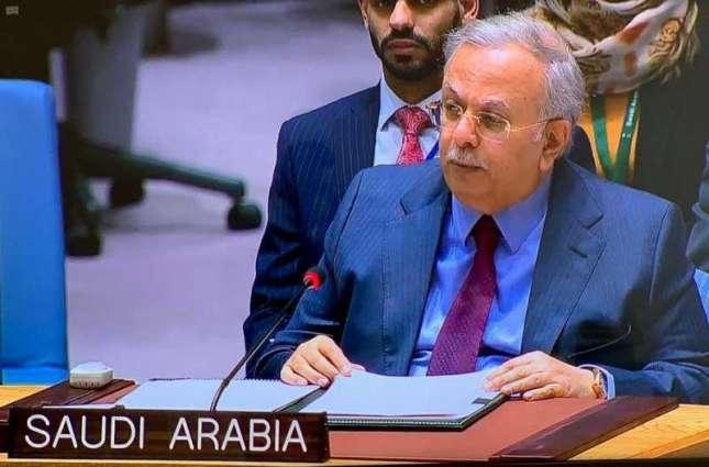 السفير المعلمي يؤكد دعم المملكة لجهود الأمم المتحدة للوصول إلى حل سياسي شامل في اليمن