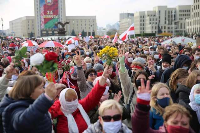 Over 360 Detained in Belarus Throughout Monday Protests - Rights Group