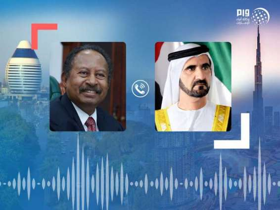 Mohammed bin Rashid receives phone call from Sudanese Prime Minister