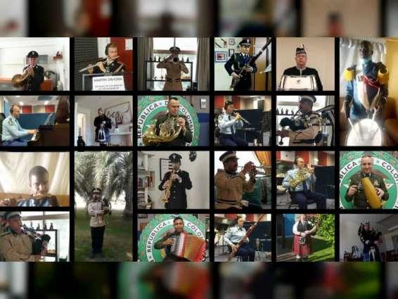 الإمارات تشارك 26 دولة في احتفالية تكريم خط الدفاع الأول في جميع أنحاء العالم