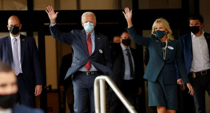 Biden Casts Vote in US Presidential Election