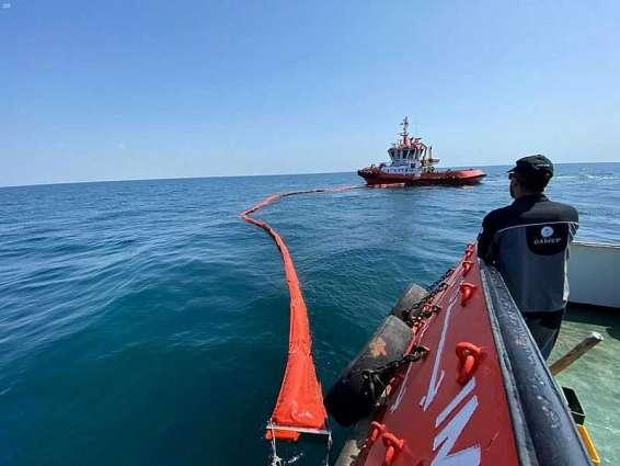 اختتام أعمال التمرين التعبوي (3) لمكافحة التلوث البحري بالزيت بجازان
