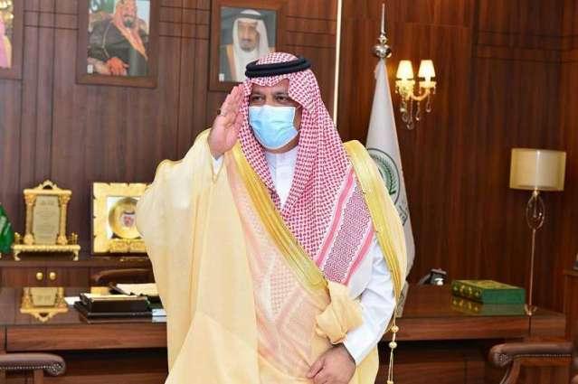 سمو الأمير عبدالعزيز بن سعد يستقبل مدير الدفاع المدني بحائل  