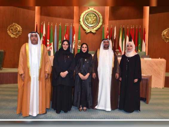UAE Parliamentary Division participates in first session of Arab Parliament in Cairo