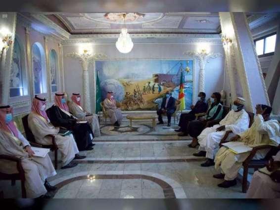 وزير الخارجية السعودي يبحث مع نظيره الكاميروني التعاون بين البلدين