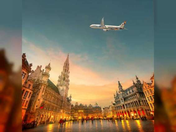 Etihad Airways celebrates 15 years of flights to Belgium