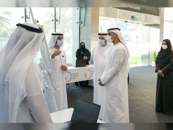 Khaled bin Mohamed bin Zayed meets first Emiratis selected for Advanced Technology Research Council's new 'NexTech' Programme