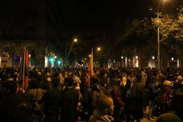At Least 14 People Detained in Barcelona During Rally Against Quarantine Measures - Police
