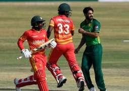 Zimbabwe set target of 279 runs for Pakistan to chase