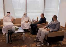 Dubai Sports Council discuss cooperation with former Israel and Chelsea coach Avram Grant