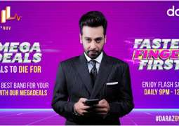 Gaming, Streaming services and Restaurant vouchers available on Daraz 11.11