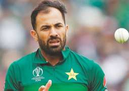 Wahab appreciates Paf du Pessis ahead of PSL's remaining matches