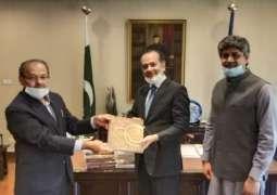 PSIC will set up Pakistan Handicrafts Souvenir Shop at Diplomatic Enclave Islamabad.