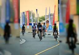 Dubai Fitness Challenge 2020 welcomes participants for the first-of-its-kind cycling event Friday