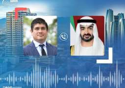 Mohamed bin Zayed receives phone call from Costa Rican President