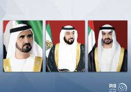 UAE leaders congratulate Latvian President on National Day