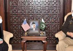 US charge d' Affairs to Pakistan calls on COAS General Bajwa