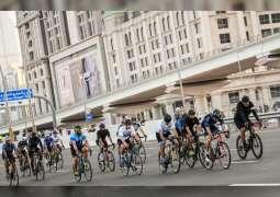 Hamdan bin Mohammed joins cyclists in first Dubai Ride