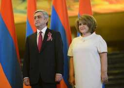 Wife of Armenian Ex-President Sargsyan Dies of COVID-19 at Age 58 - Sargsyan's Office