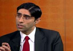 Moeed Yusuf says India wants to damage regional peace