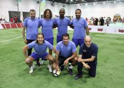 Dubai brings together world football's biggest stars for friendly match as part of Dubai Fitness Challenge