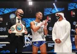 lyass Habibali wins UAE K1 Combat Kickboxing Championship