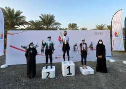 Al Sahlawi and Nafeesah clinch badminton titles as Sheikha Hind Women's Tournament comes to close