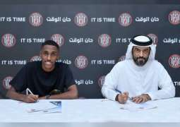 Defender Khalifa Al Hammadi pens new five-year deal with Al Jazira FC
